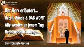2005-12-01 - Urteil Gottes-Sunde-Das Wort Gottes-Rechenschaft ablegen am Tag des Herrn-Trompete Gottes