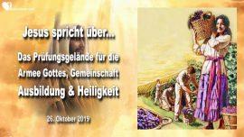 2019-10-26 - Prufungsgelande fur Armee Gottes-Gemeinschaft-Heiligkeit-Ausbildung-Liebesbrief von Jesus