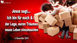 2019-12-03 - Ich bin fur euch-Leben einhauchen-Traume leben-Liebesbrief von Jesus