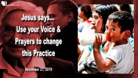 2019-12-27 - Use your Voice and Prayer-Dishonorable Practice-Migration-Obama-Mexico-Love Letter from Jesus