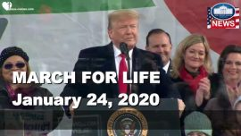 2020-01-24 - March for Life President Donald Trump Speech in english