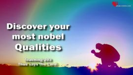 Conquer your Lethargy-Discover Most nobel Qualities-Perfection-The Book of the true Life Teaching 203