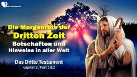 Das Dritte Testament Kapitel 2-Morgenrot der dritten Zeit-Botschaften Hinweise von Jesus Christus 2-1