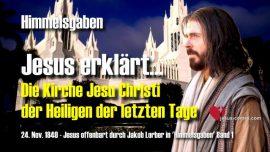 Himmelsgaben Jakob Lorber deutsch-Mormonen-LDS-Kirche Jesu Christi der die Heiligen der letzten Tage
