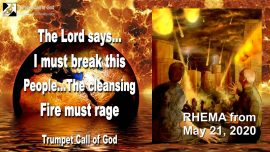 2011-09-14 - The Last Generation-You choose Death-Cleansing Fire of Purification-Trumpet Call of God-RHEMA