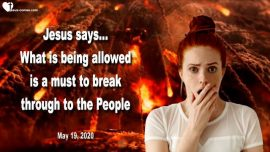 2020-05-19 - Allowed by God-Fire falling from Heaven-Sins Immorality-Wake up people-Love Letter from Jesus