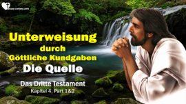 Das Dritte Testament Kapitel 4-Quelle der Kundgaben-Unterweisungen Mexiko-Offenbarung Gottes