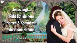 2020-06-03 - Auf dem Herzen von Jesus ruhen-Im Himmel Tanzen mit Jesus-Liebesbrief von Jesus