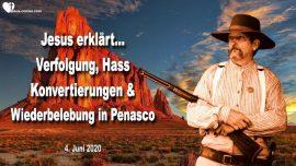 2020-06-04 - Verfolgung-Hass-Konvertierung-Wiederbelebung in Penasco-Satanismus-Liebesbrief von Jesus