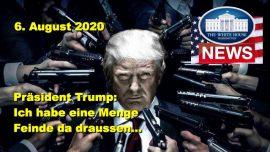 2020-08-06 - Donald Trump Rede Ohio-Ich habe eine Menge Feinde-Mich nicht sehen