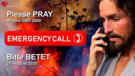 2020-08-21 - Emergency Call to Prayer-Dringender Gebetsaufruf