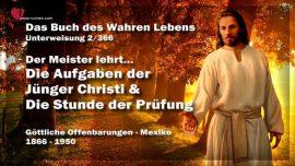 Buch des wahren Lebens-Offenbarungen Gottes Mexiko-Unterweisung 2-Aufgaben Junger Jesu-Prufungen
