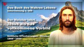 Das Buch des wahren Lebens Unterweisung 3-Offenbarungen Gottes-Jesus als das vollkommene Vorbild