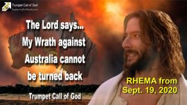 2011-02-01 - Gods Wrath against Australia-Churches-Leaders-People-Ways of the World-Trumpet Call of God-Rhema