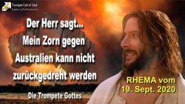 2011-02-01 - Zorn Gottes gegen Australien-Kirchen Fuhrer Menschen Wege der Welt-Die Trompete Gottes-Rhema