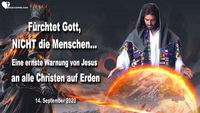2020-09-14 - Warnung von Jesus-Impfung-Zeichen des Tieres-5G Technologie-Chip-Wohlstandchristen-Weltregierung