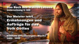 Das Buch des wahren Lebens Unterweisung 5 Mexiko-Ermahungen und Aufgaben fur das Volk Gottes