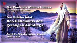 Das Buch des wahren Lebens Unterweisung 6 von 366-Der Meister lehrt-Geheimnis vom geistigen Aufstieg