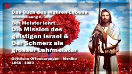 Das Buch des wahren Lebens Unterweisung 8 von 366-Mission-Das Geistige Israel-Schmerz als Lehrmeister