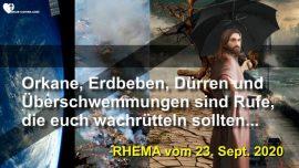 Das Dritte Testament-Untugenden-Lauterung-Weckrufe-Orkane-Erdbeben-Durren-Uberschwemmungen