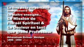 Le livre de la vie veritable-Enseignement 8 des 366-l_Israel Spirituel-La Douleur en tant que grand Professeur