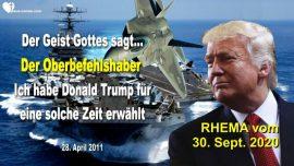 2011-04-28 - Oberbefehlshaber Donald Trump-Gott hat Donald Trump gesalbt-Geist Gottes-Mark Taylor-Rhema