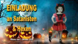 2016-10-31 - Halloween-Einladung von Jesus an Satanisten-Hexen-Satanismus-Hexenzirkel-Liebesbrief von Jesus