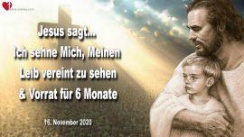 2020-11-16 - Leib Christi Vereinigung-Aufruf zur Busse und Umkehr-Kirchen der MEnschen-Vorrat sechs Monate