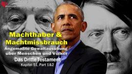 Das Dritte Testament Kapitel 51-1-Machthaber Machtmissbrauch Anmassung der Gewalt-Jesus Christus DDT