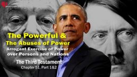 The Third Testament Chapter 51-1-Powerful Rulers Abuse of Power Arrogant Exercise of Power over Nations DDT