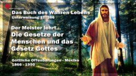Das Buch des wahren Lebens Unterweisung 17 von 366-Jesus Christus-Gesetze der Menschen-Das Gesetz Gottes