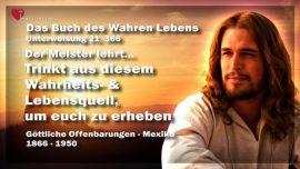 Das Buch des wahren Lebens Unterweisung 21 von 366-Wahrheitsquell-Lebensquell-Starkung-Jesus Christus
