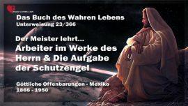 Das Buch des wahren Lebens Unterweisung 23 von 366-Arbeiter im Werk des Herrn-Aufgabe der Schutzengel