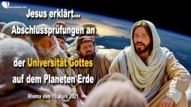 2019-04-30 - Entruckung Abschlussprufungen Universitat Gottes Planet Erde-Liebesbrief von Jesus Christus