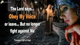 2011-07-28 Obedience to God-Obey Gods Voice-No longer fight against God-Trumpet Call of God