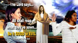 2005-07-08 - All shall reap what they sow-Be it good or evil-Trumpet Call of God Jesus Christ