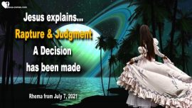 2019-03-23 Rapture and Judgment-A Decision has been made-Love Letter Warning Jesus Christ