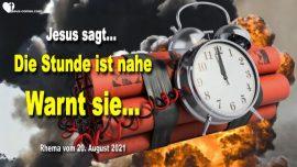 2020-12-17 - Die Stunde ist nahe-Warnt die Menschheit-Liebesbrief von Jesus Christus Warnung