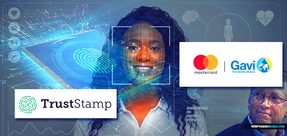 GAVI Mastercard Bill Gates Trust Stamp Mark of the Beast - Zeichen des Tieres