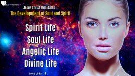 Secret of Life Jesus Christ-Development of Soul Spirit-Spirit Soul Angelic Divine Life-Gottfried Mayerhofer