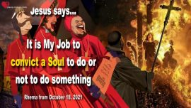 2021-10-18 - Conviction of a Soul is My Job-Love Letter from Jesus Christ